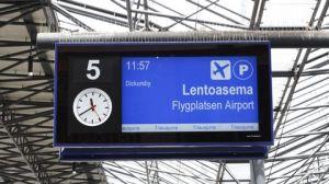 Kehärata lentoasema infokyltti rautatieasema (30062015)